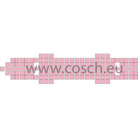 Stickit kleur 15 roze, 5 stuks