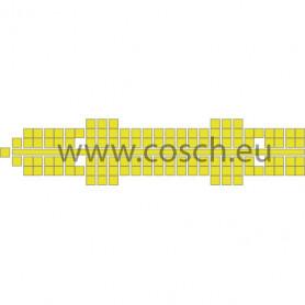 Stickit kleur 08 geel, 10st.