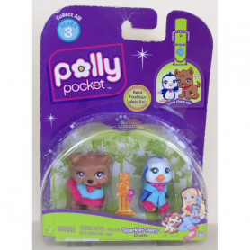 Polly Pocket Sparklin Pets Duo