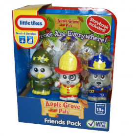 Little Tikes Apple Grove pals Friends pack 3