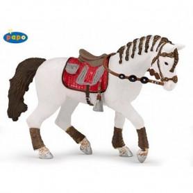 Papo 51546 Paard met gevlechte manen