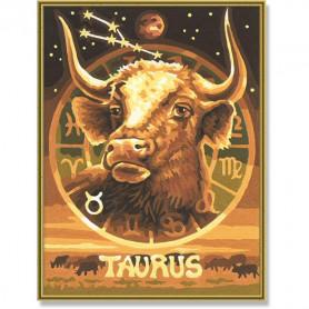 Sterrenbeeld Stier 18 x 24