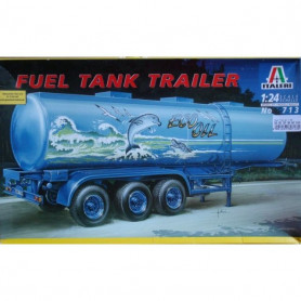 Fuel Tank Trailer, Italeri 713