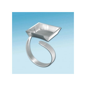 Fimo ring vierkant