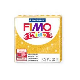 Fimo Kids nr. 112 glitter goud