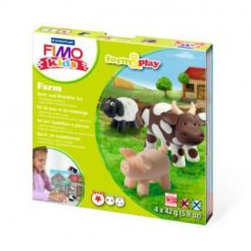 Fimo Kids startset Boerderij dieren