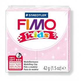 Fimo Kids nr. 206 Rose parelmoer