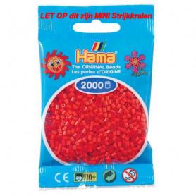 Hama mini kralen kl 05 rood