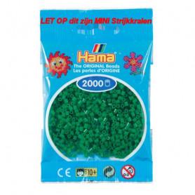 Hama mini kralen kl 10 groen