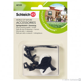 Schleich 42123 Jumping zadel + hoofdstel