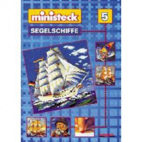 Ministeck voorbeeld boek nr. 5 Zeilboten