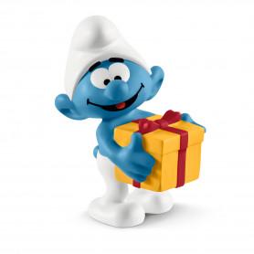 Schleich 20816 Smurf with present