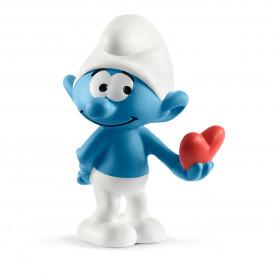 Schleich 20817 Smurf with heart