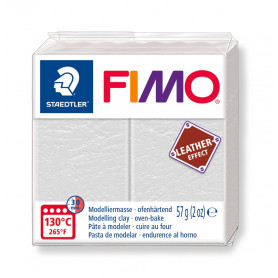 Fimo leather-effect 57 g ivoor nr. 029
