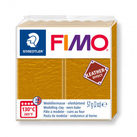 Fimo leather-effect 57 g oker nr. 179