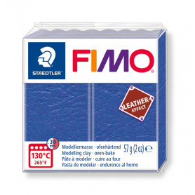 Fimo leather-effect 57 g  indigo nr. 309