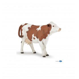 Papo 51165 Bruin witte koe