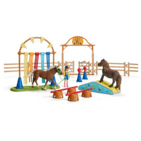 Schleich 42481 Pony behendigheidstraining
