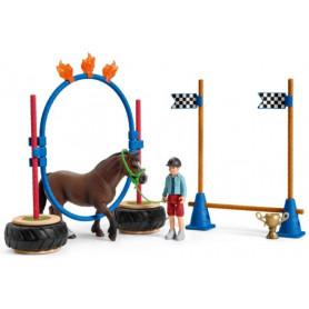 Schleich 42482 Pony Behendigheidswedstrijd