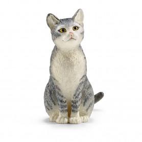 Schleich 13771 Kat zittend
