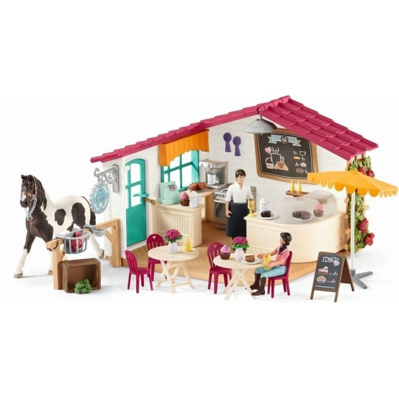 Schleich 42519 Ruiter Café