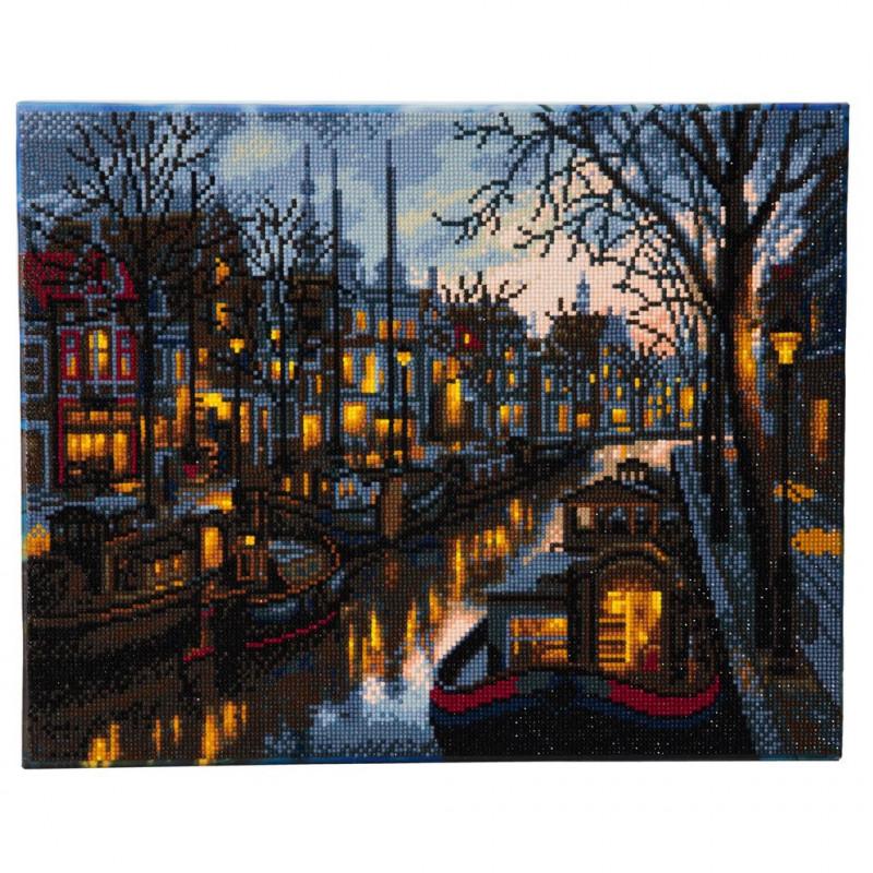 Crystal Art Canal Life - 40x50 cm - Full DP
