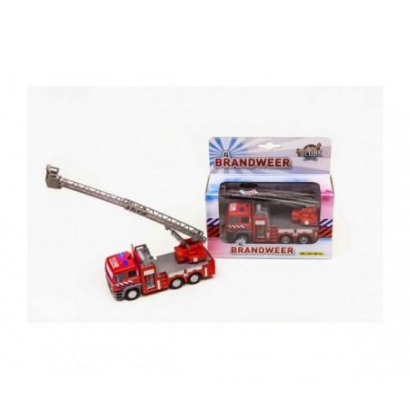 Brandweer ladderwagen Kids Globe