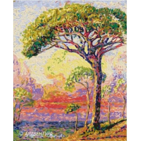 Pine Henri Edmond Cross - malen nach zahlen - 50 x 40 cm