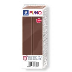 Fimo soft nr 75 Chocolade 454 gr.