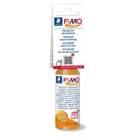 Fimo Deco Gel - Fimo Liquid - Goud - 50 ml