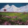 Bergtoppen - Schilderen op nummer - 40 x 50 cm