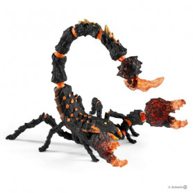 Schleich 70142 Scorpion de lave