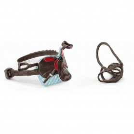 Schleich 42489 Saddle & bridle Hannah & Cayenne