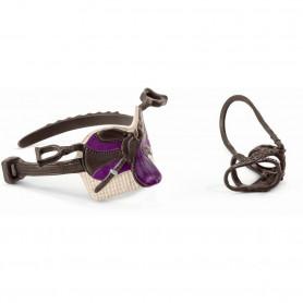 Schleich 42491 Saddle & bridle Lisa & Storm