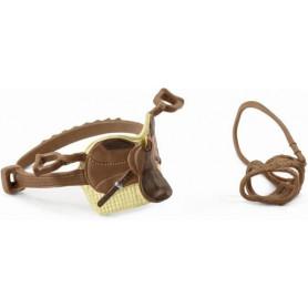 Schleich 42492 Saddle & bridle Sarah & Mystery