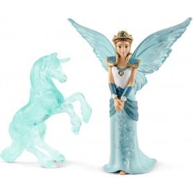 Schleich 70587 Film Eyela avec sculpture Licorne de glace