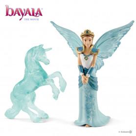 Schleich 70587 Movie Eyela with unicorn ice sculpture