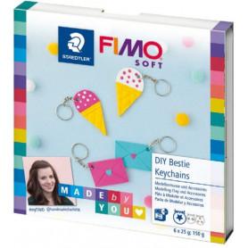 Fimo DIY set Bestie Keychains