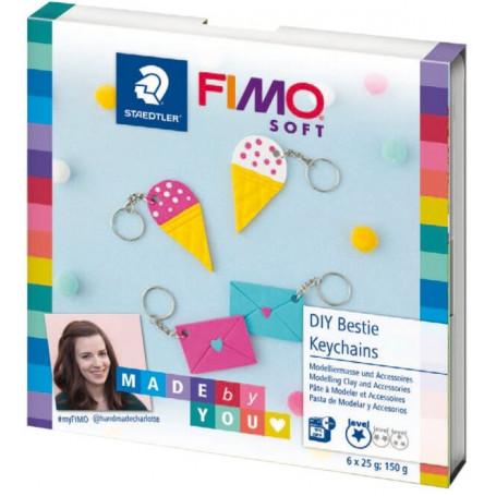 Fimo DIY Sleutelhanger set