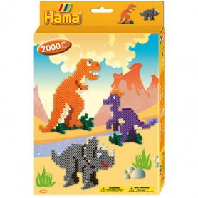 Hama Dino World Strijkkralen 2000 stuks