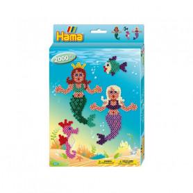 Hama Mermaids Midi Beads set