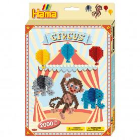 Hama Circus Midi Strijkkralen 2000 stuks