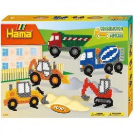Hama Construction verhicle Midi Beads set 4000