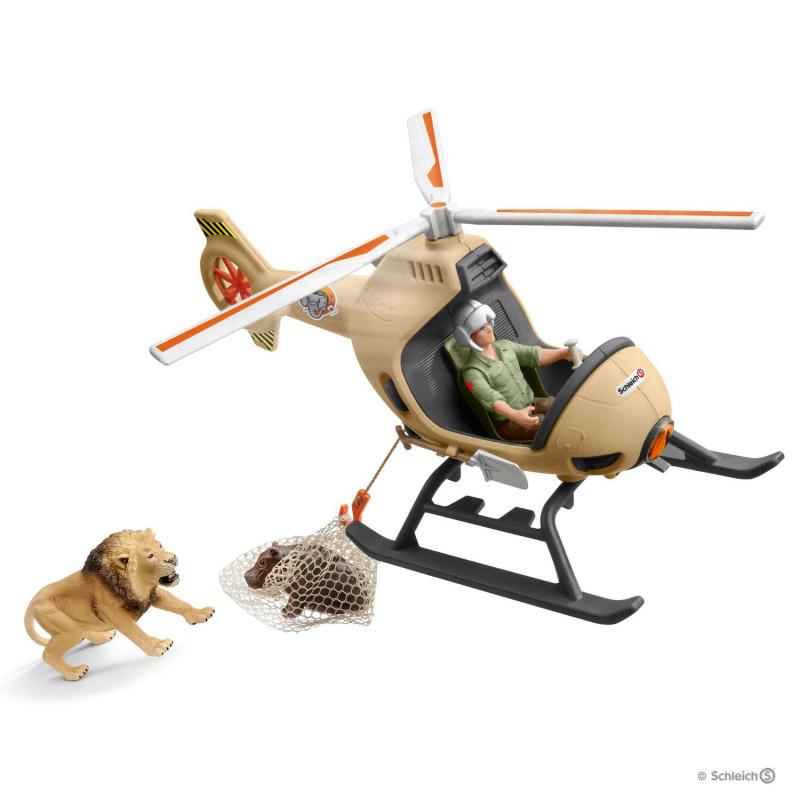 Schleich 42476 Dieren Reddingshelicopter