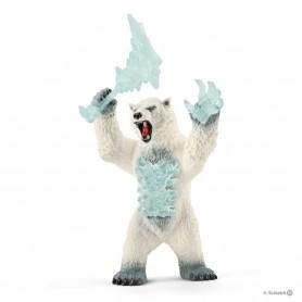 Schleich 42510 Blizzardbeer met wapen