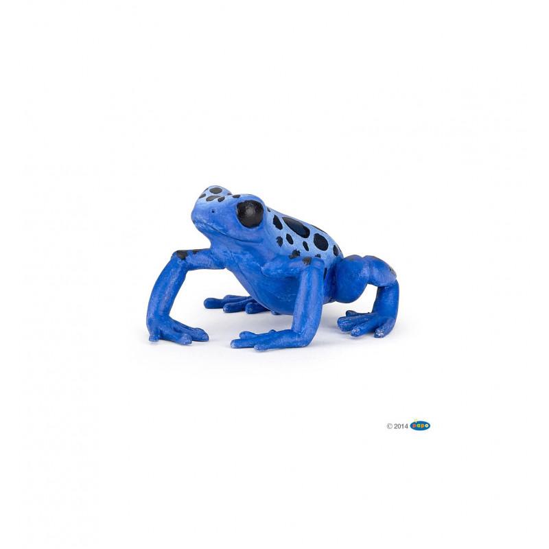 Equatoriale blauwe Kikker