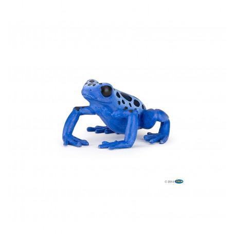 Papo 50175 Equatoriale blauwe Kikker