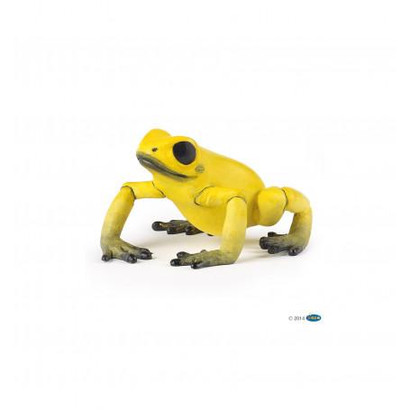 Papo 50174 Equatoriale gele Kikker