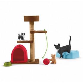 Schleich 42501 Speelplaats voor schattige katten