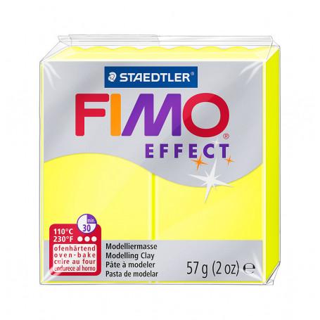 Fimo effect nr. 101 Neon Geel